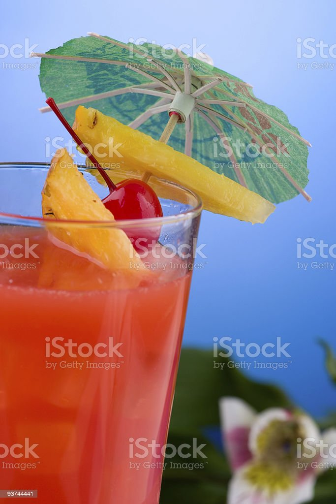 Most popular cocktails series - Hurricane stock photo