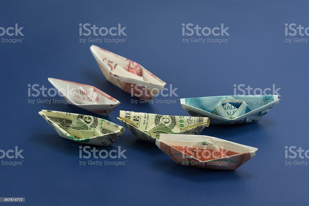 Most Tradable Currencies stock photo