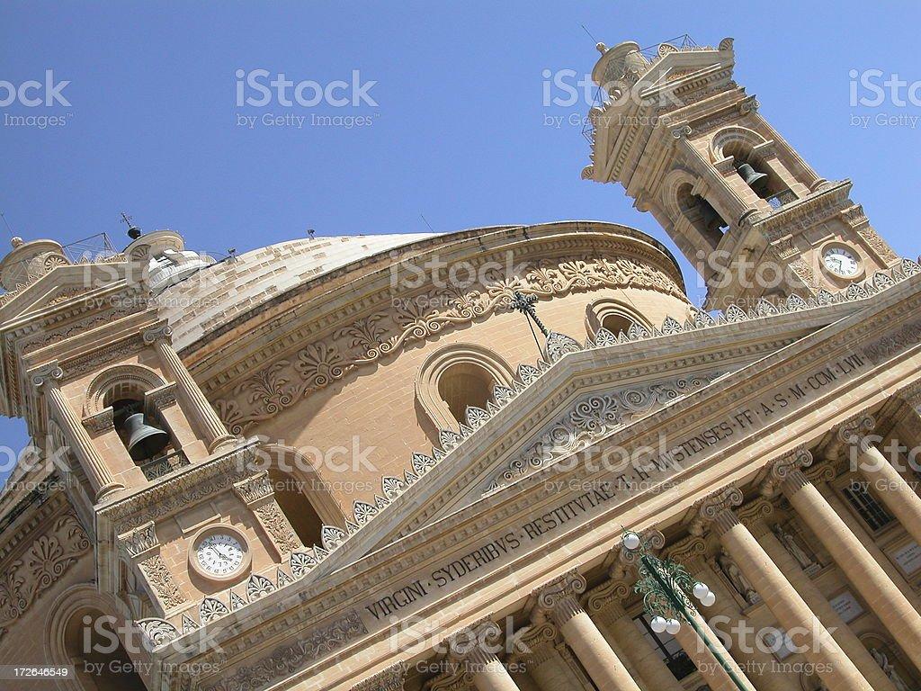 Mosta Dome royalty-free stock photo
