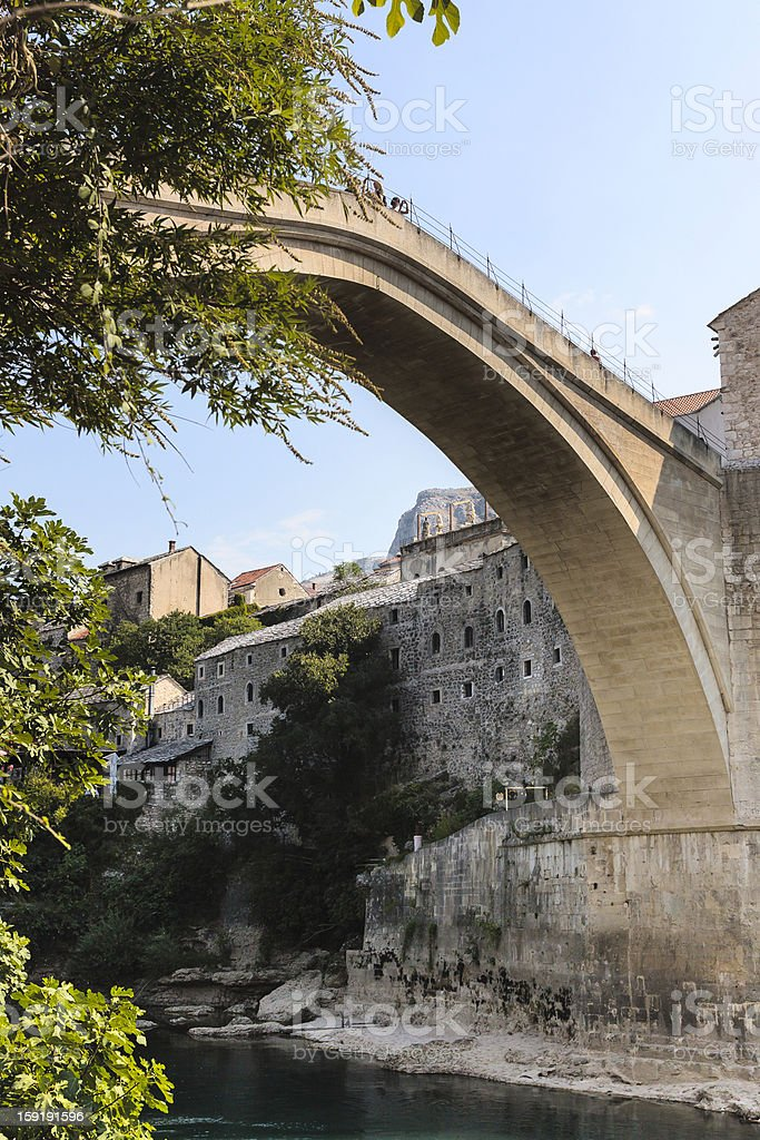 Mostar Bridge royalty-free stock photo