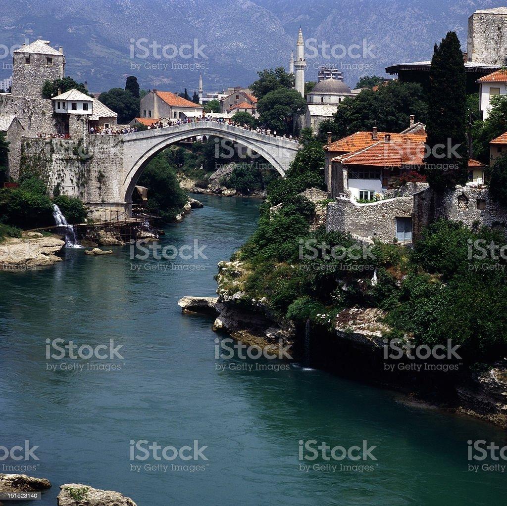 Mostar royalty-free stock photo