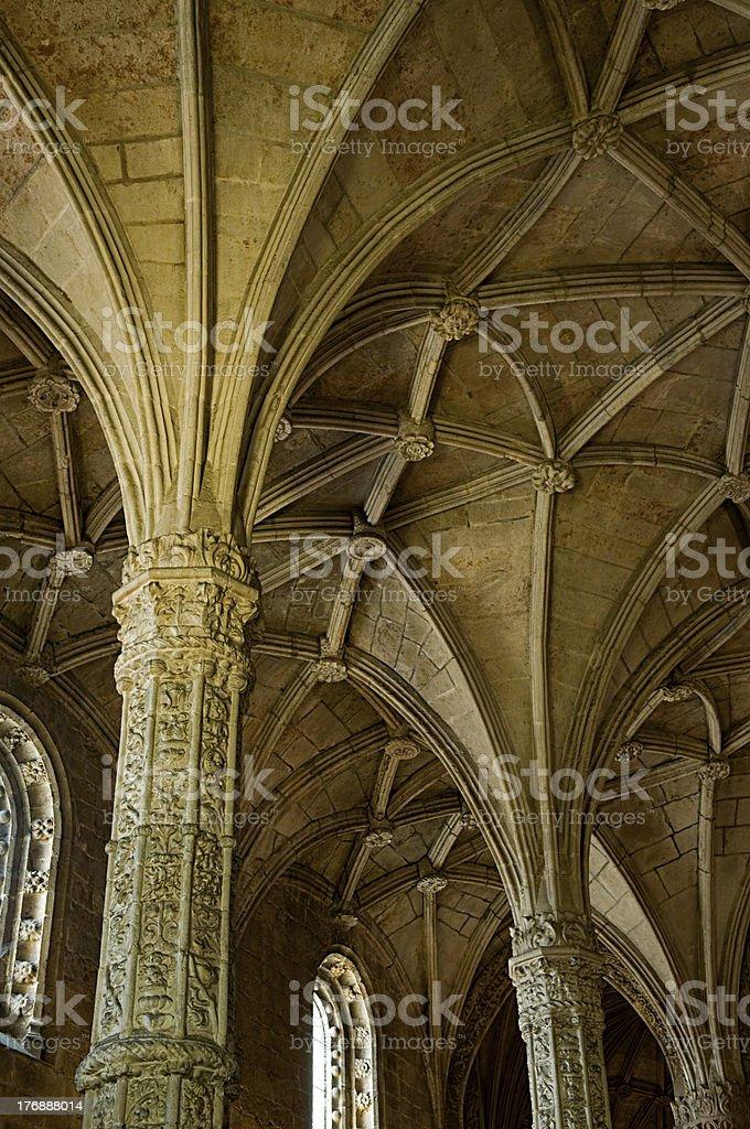 Mosteiro Dos Jeronimos royalty-free stock photo