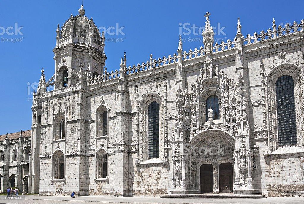 Mosterio dos Jeronimos, Lisbon, Portugal royalty-free stock photo