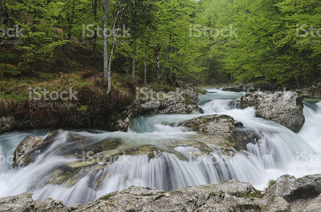 Mostnica Gorge stock photo