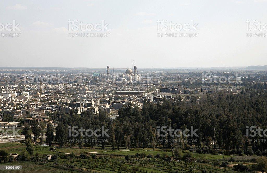 Mosul Cityscape stock photo