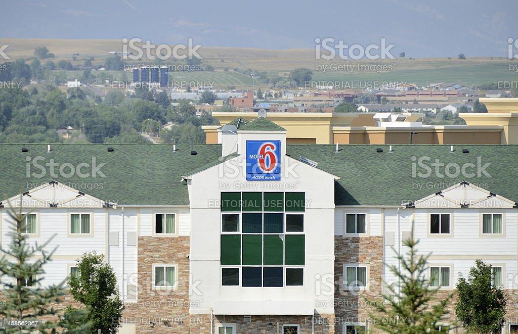 Motel 6 stock photo