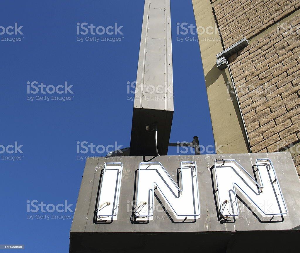 Motel Inn stock photo