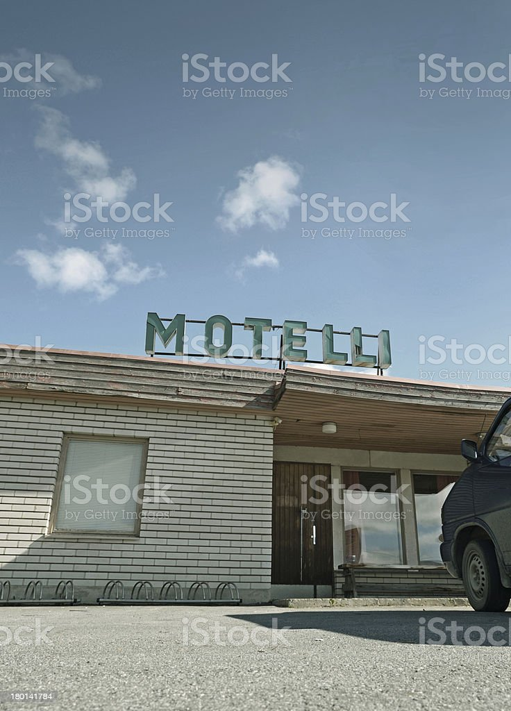 Motel royalty-free stock photo