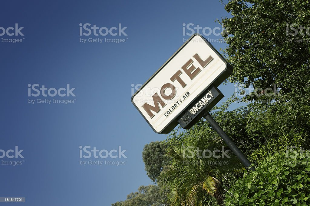 Motel Sign, Los Angeles stock photo