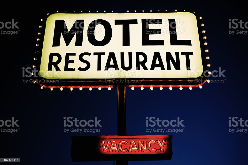 Motel Sign Nevada USA royalty-free stock photo