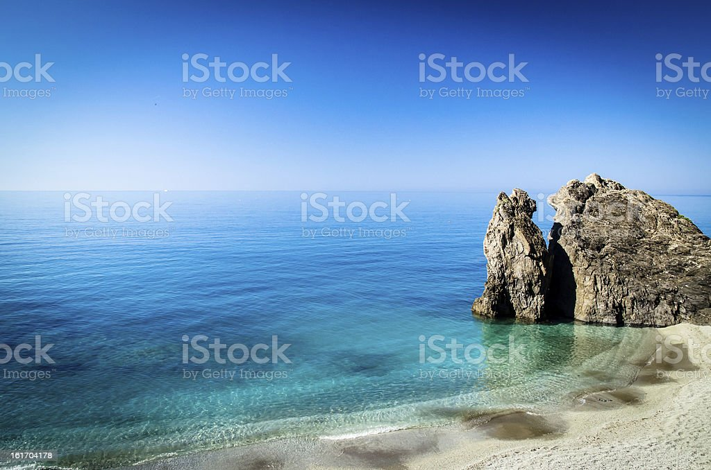 moterosso's sea royalty-free stock photo