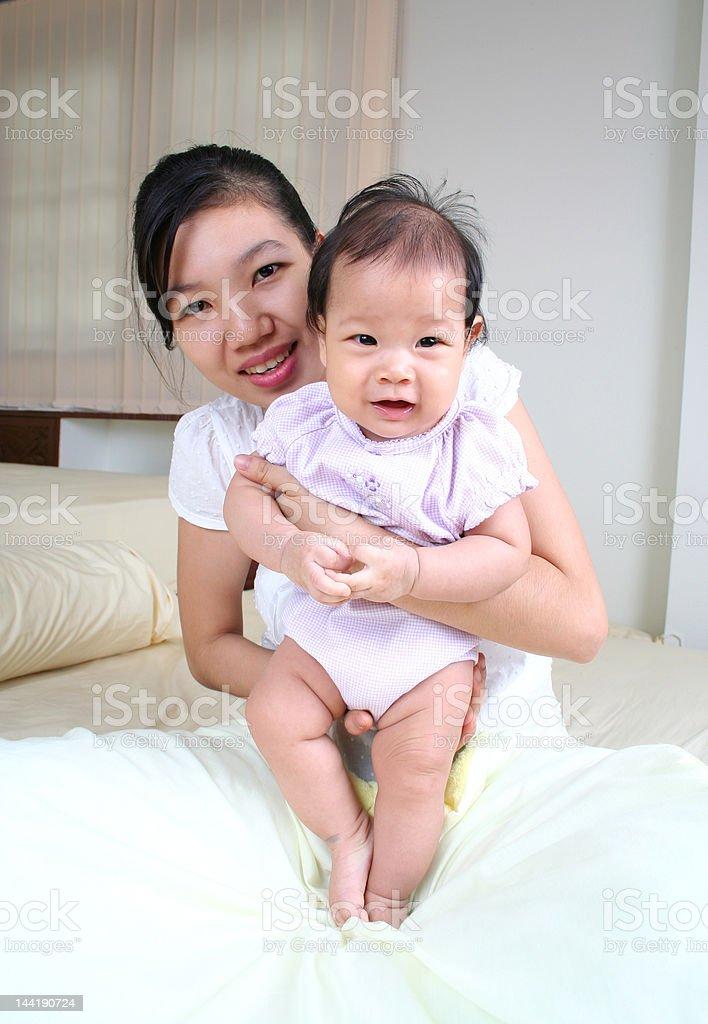 Mutter und baby 3 Lizenzfreies stock-foto