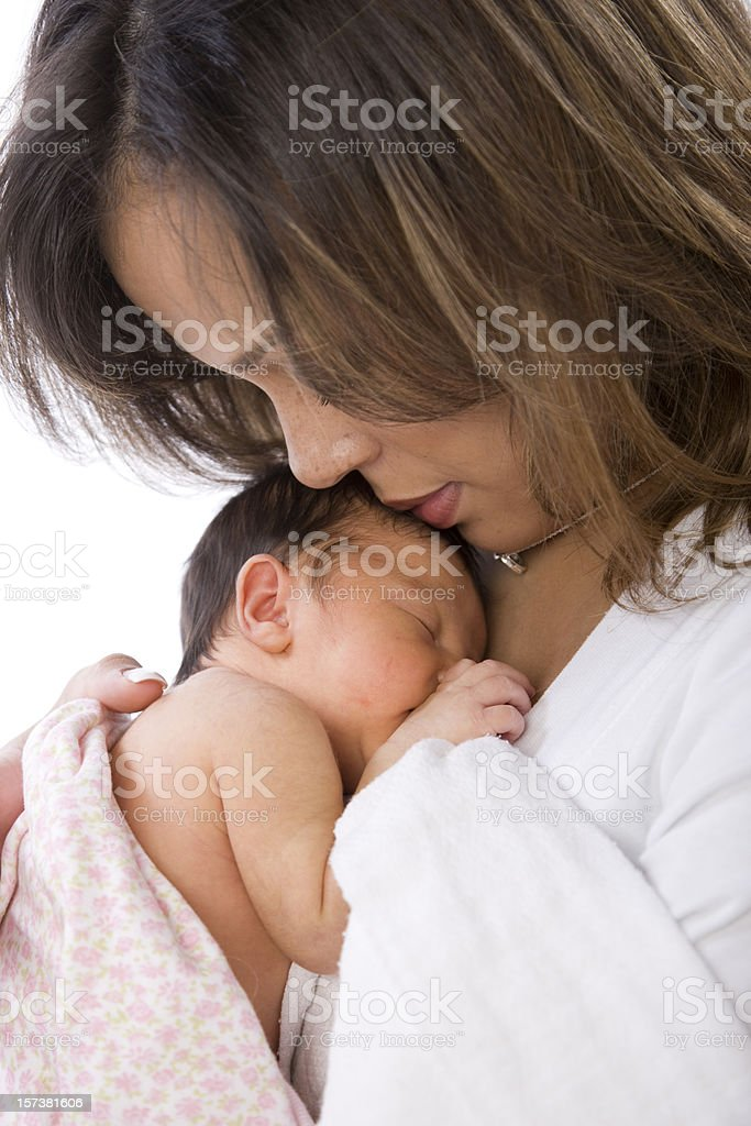 Mother and Baby Connection stock photo