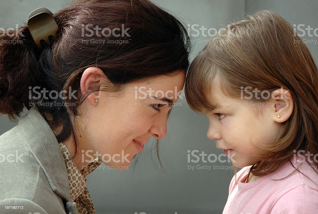 Mother and child reunion royalty-free stock photo