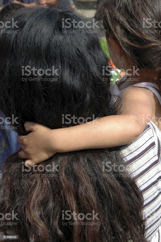 Мать и Дочь Стоковые фото Стоковая фотография