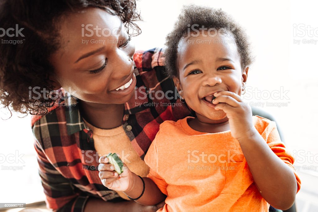 Mother and daughter portrait royalty-free stock photo