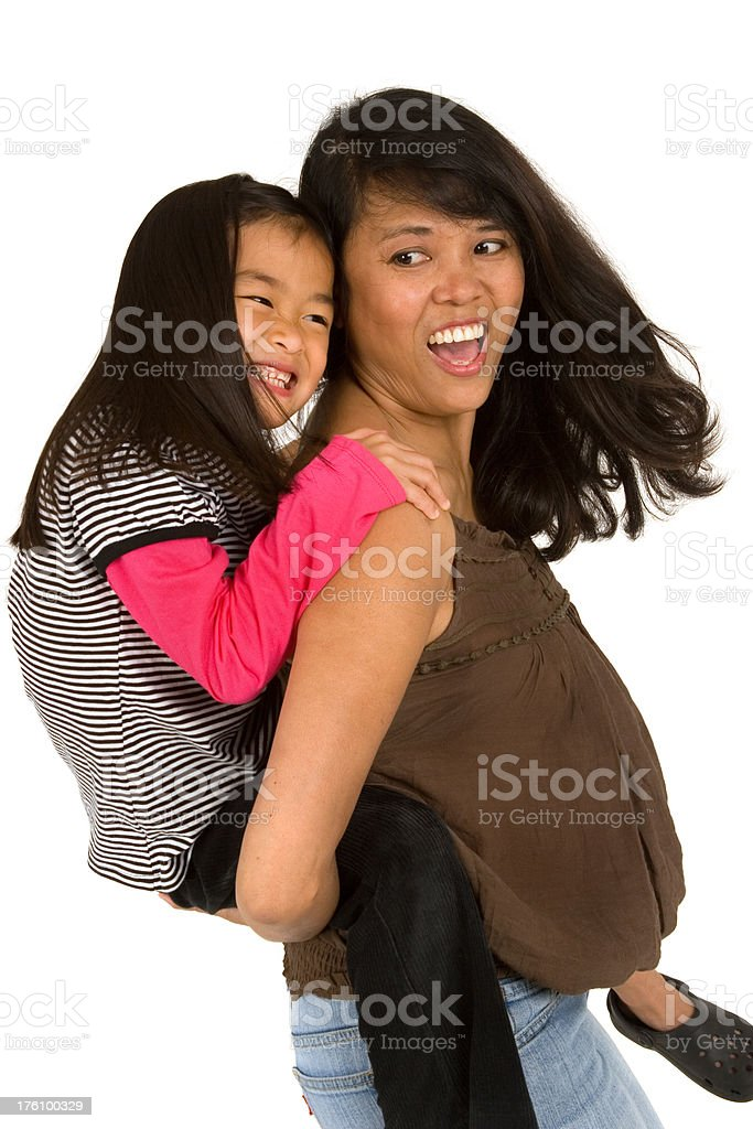 Mother and Daughter Series royalty-free stock photo