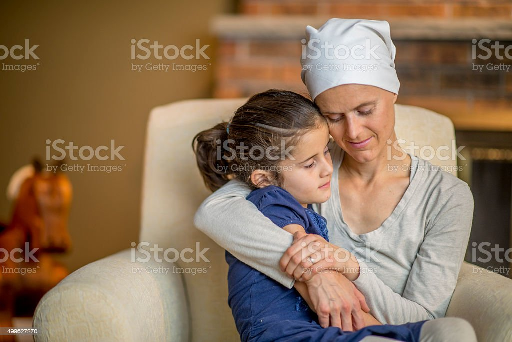 Mother and Daughter Spending Quality Time stock photo