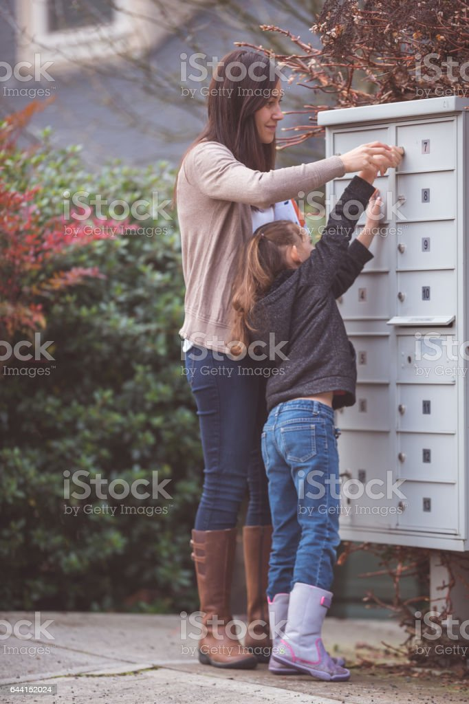 Mother and Daughter spending quality time together stock photo