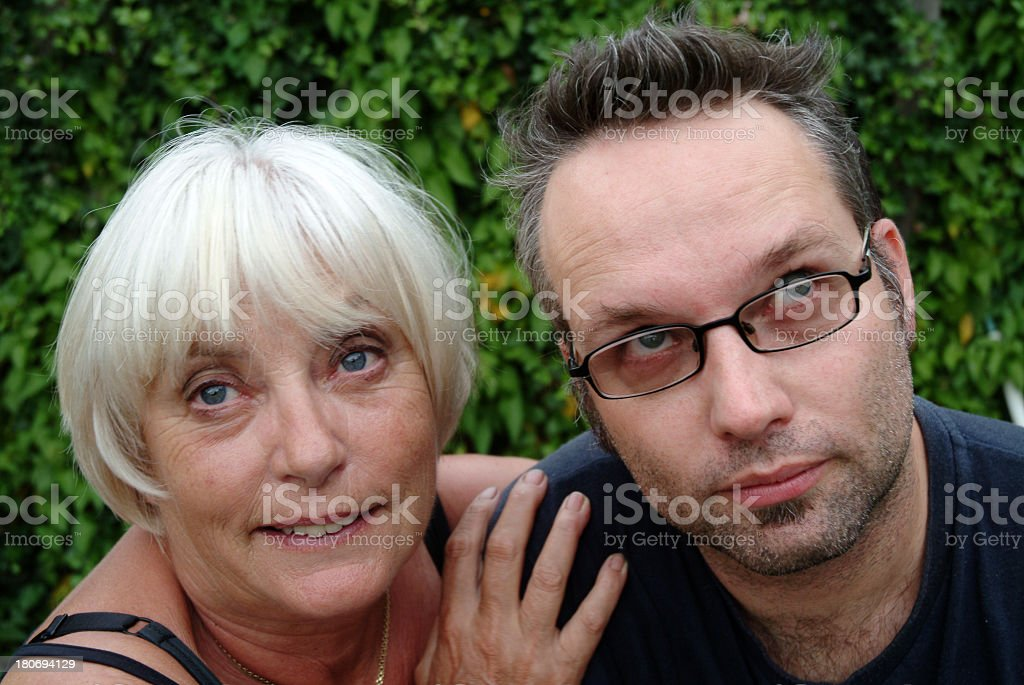 Mother and Son 1 royalty-free stock photo