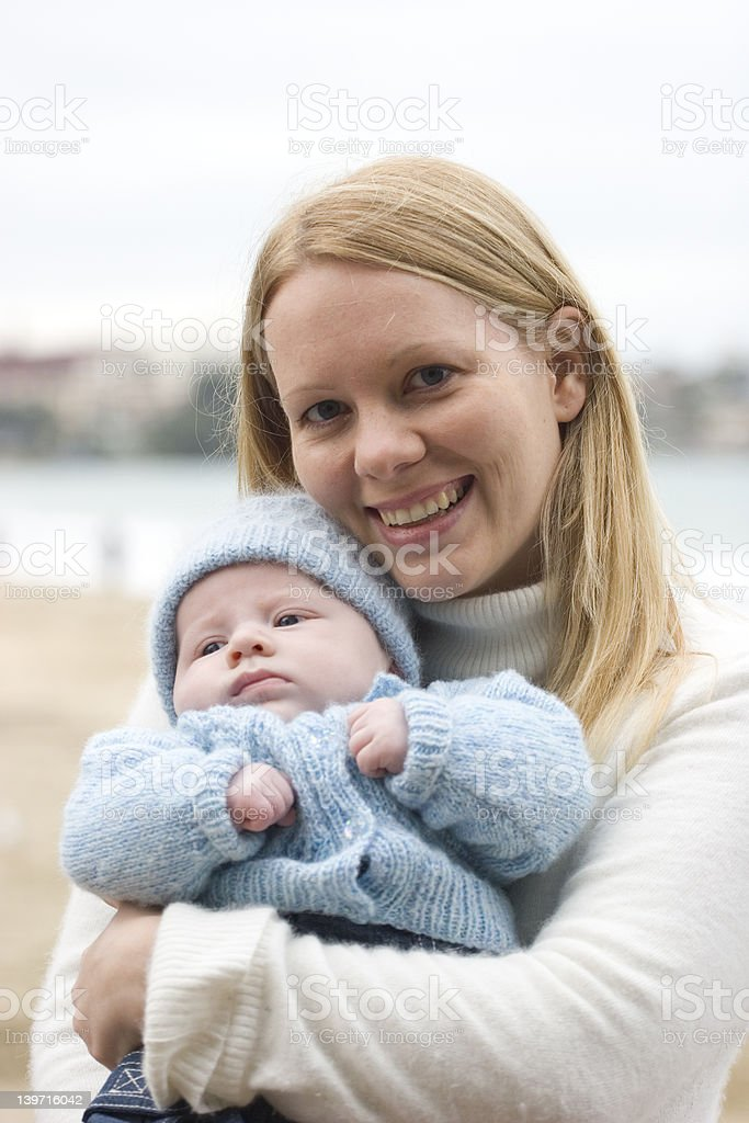 Mother & Baby royalty-free stock photo