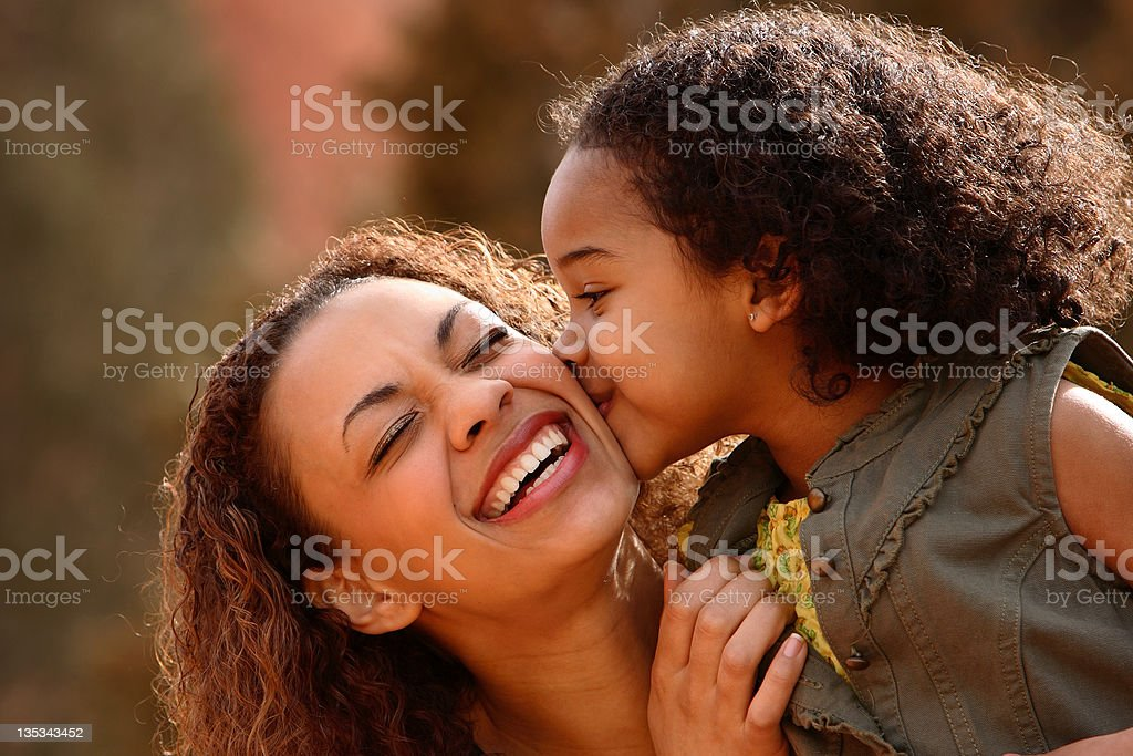 Mother & Child stock photo