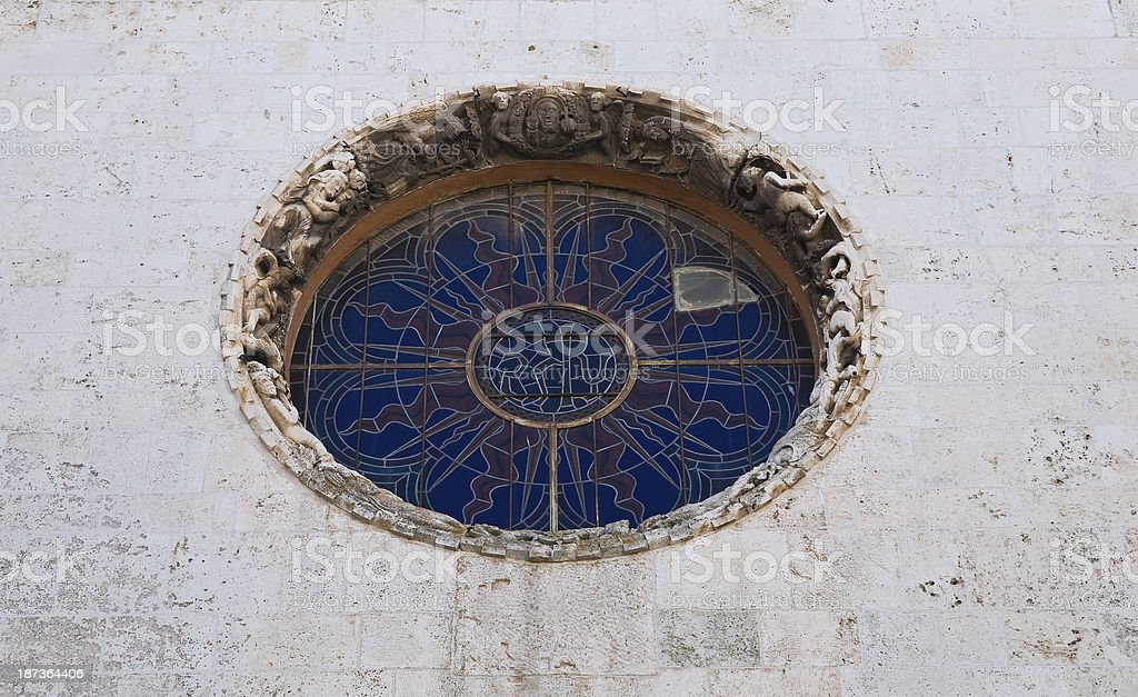 Mother Church of Noci. Puglia. Italy. stock photo