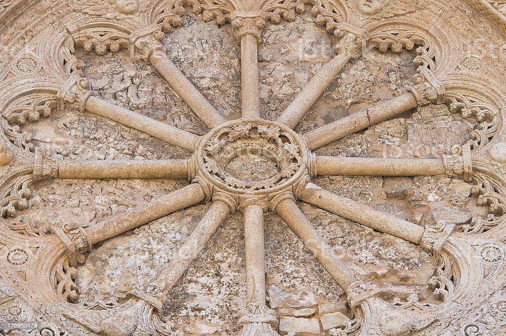 Mother Church of St. Pietro. Putignano. Puglia. Italy. royalty-free stock photo