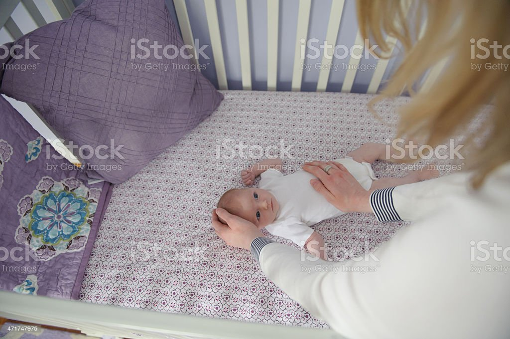 Mother Comforting Daughter royalty-free stock photo