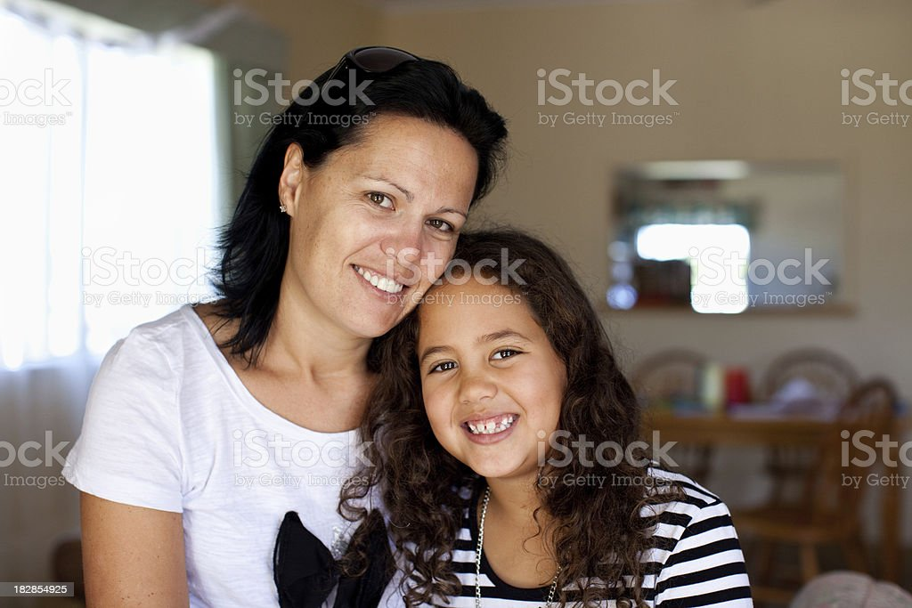 Mother & Daughter stock photo