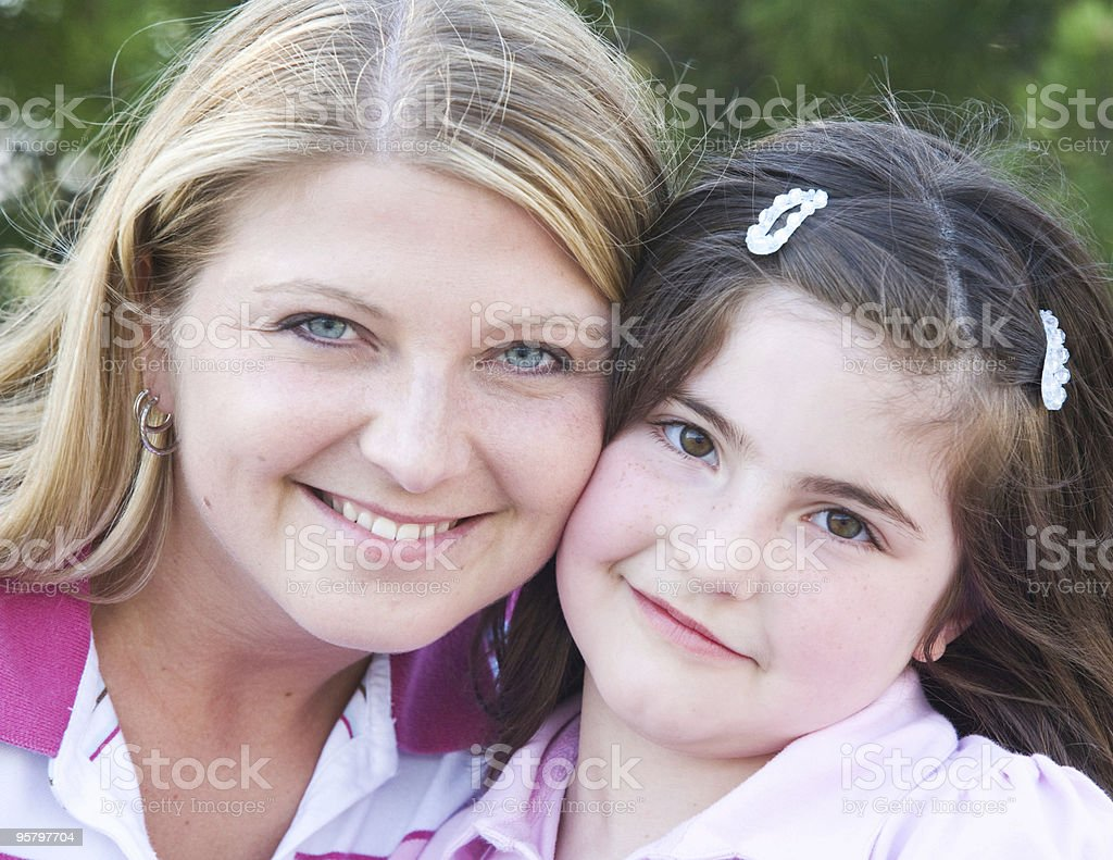 Mother Daughter royalty-free stock photo