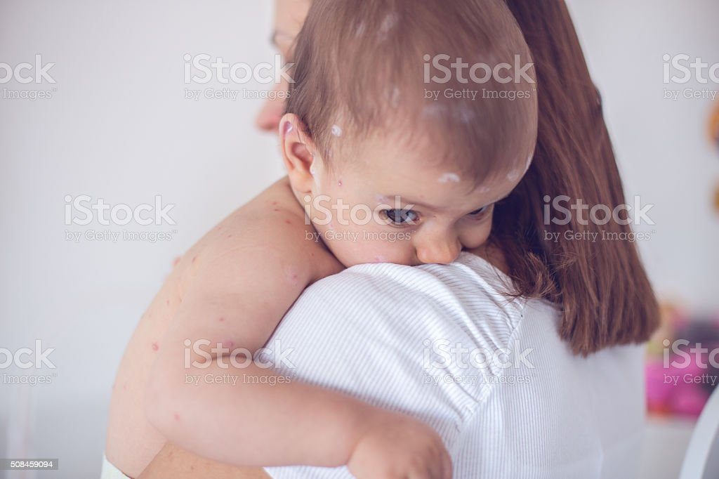 Mother do not worry stock photo