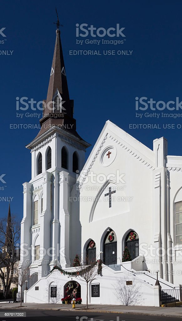 Mother Emanuel AME Church Charleston stock photo