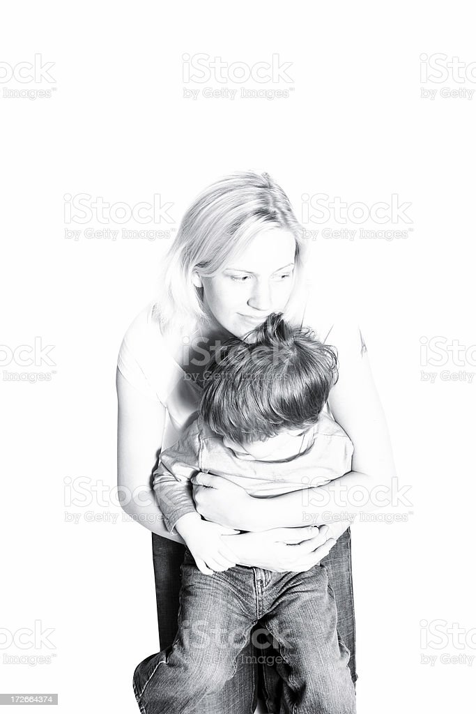 Mother holding Child royalty-free stock photo