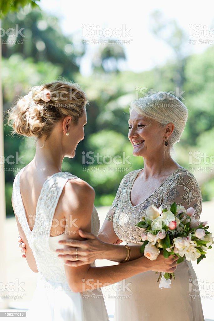 Что делает мать невесты в день свадьбы