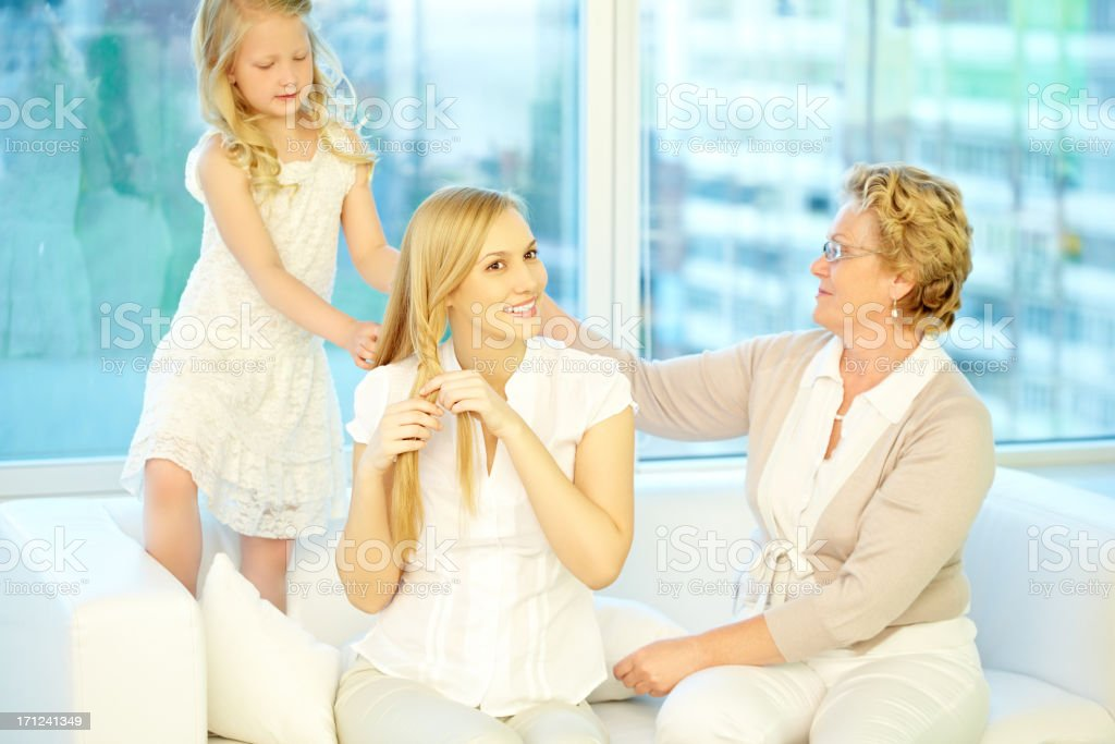 Mother is beautiful royalty-free stock photo