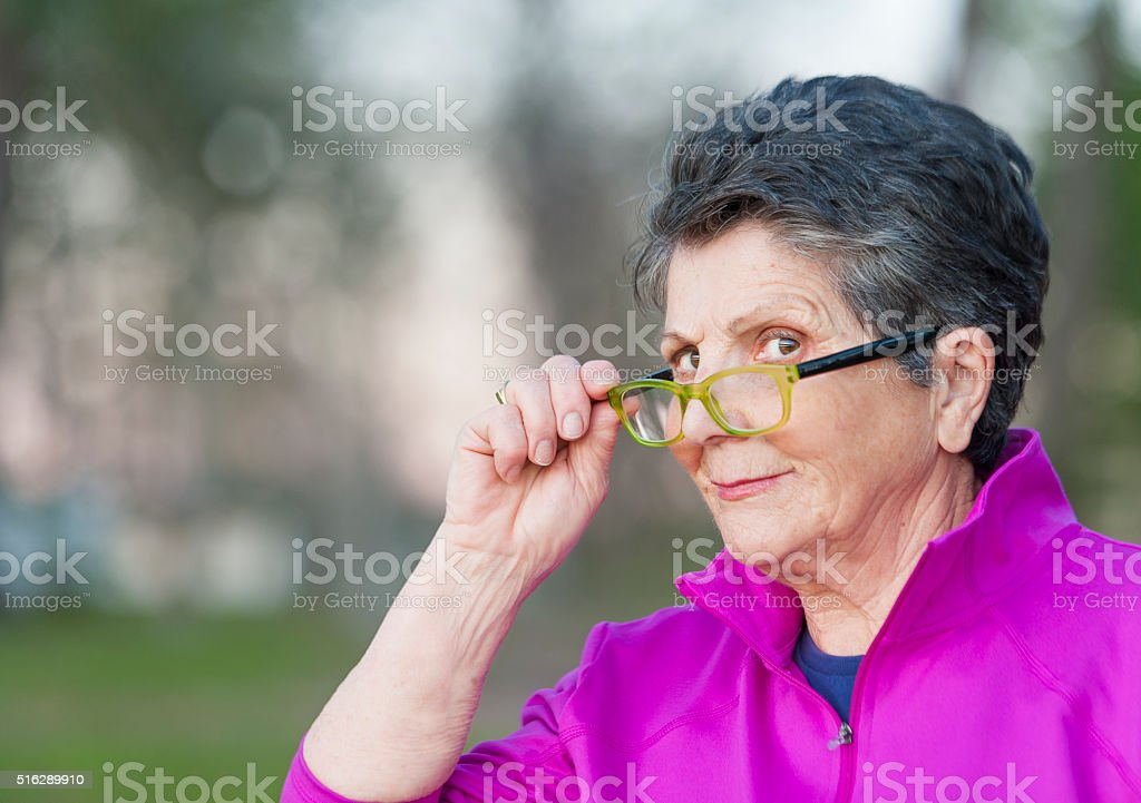 Mother is Watching stock photo