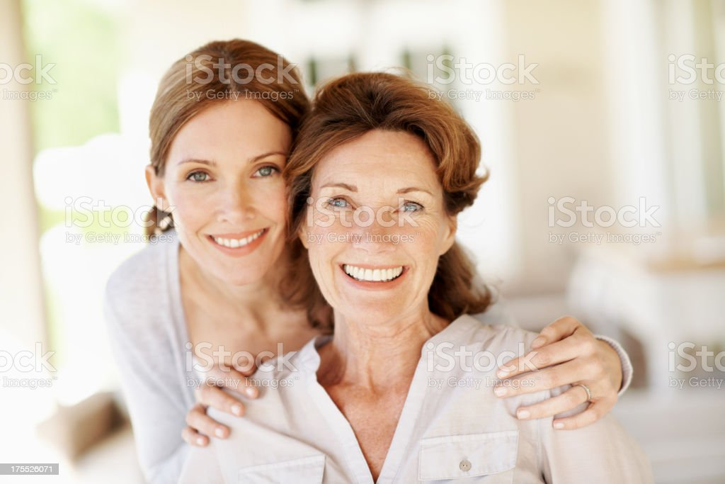 Mother like daughter... stock photo