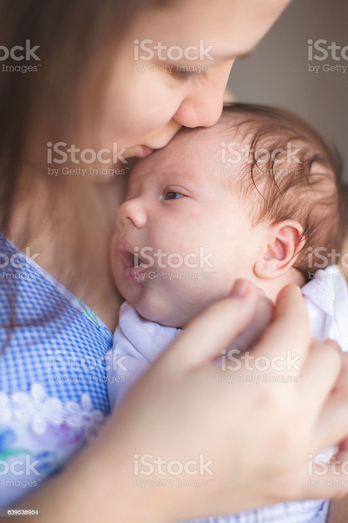 Mother love stock photo