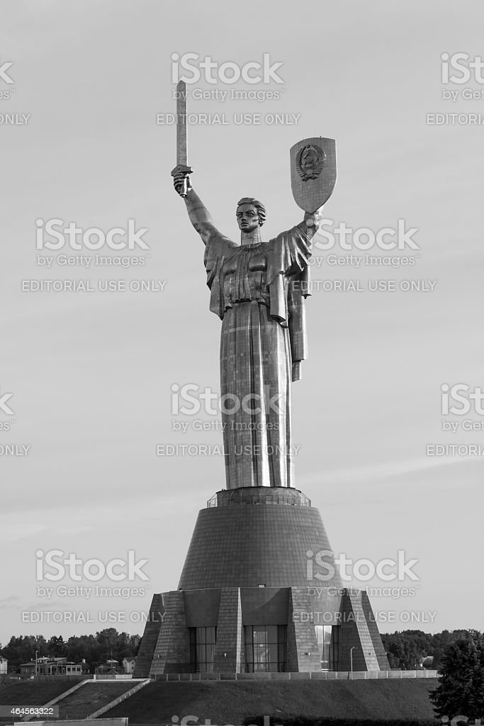 Mother motherland, Kyiv, Ukraine stock photo