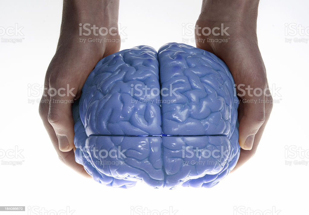 mother nature brain royalty-free stock photo