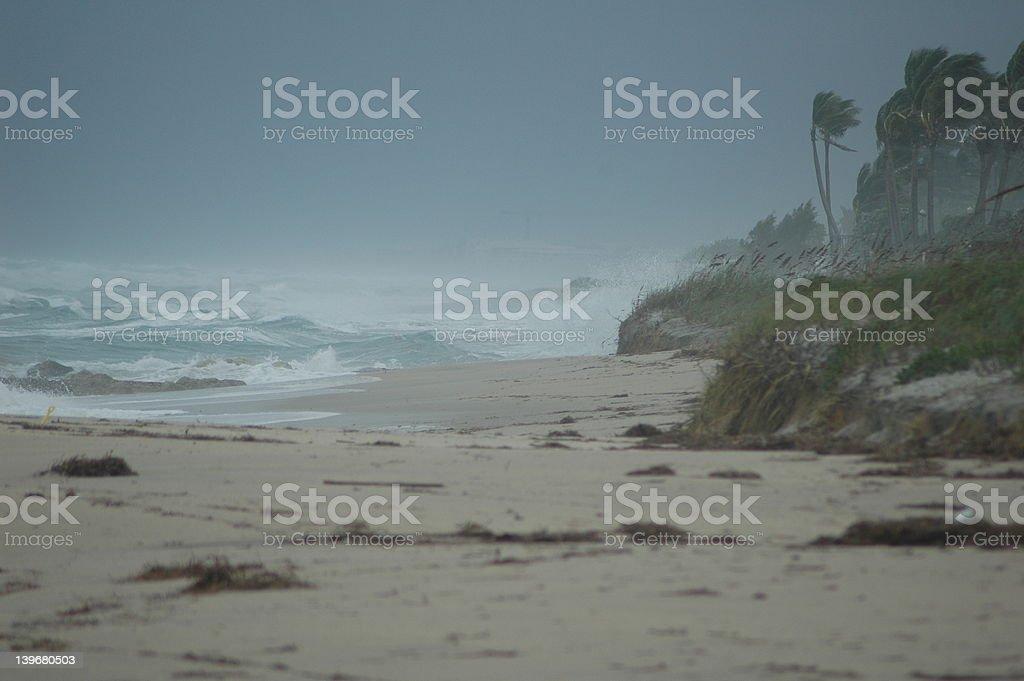 Mother Nature Slammin the East Coast royalty-free stock photo