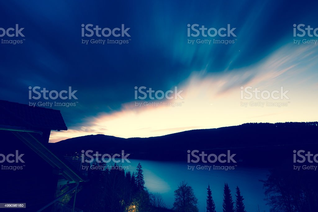 Mother Nature - Twilight Hours stock photo