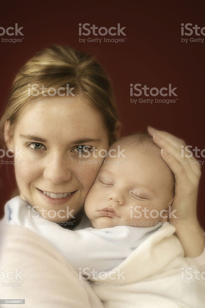 mother & son 1 royalty-free stock photo