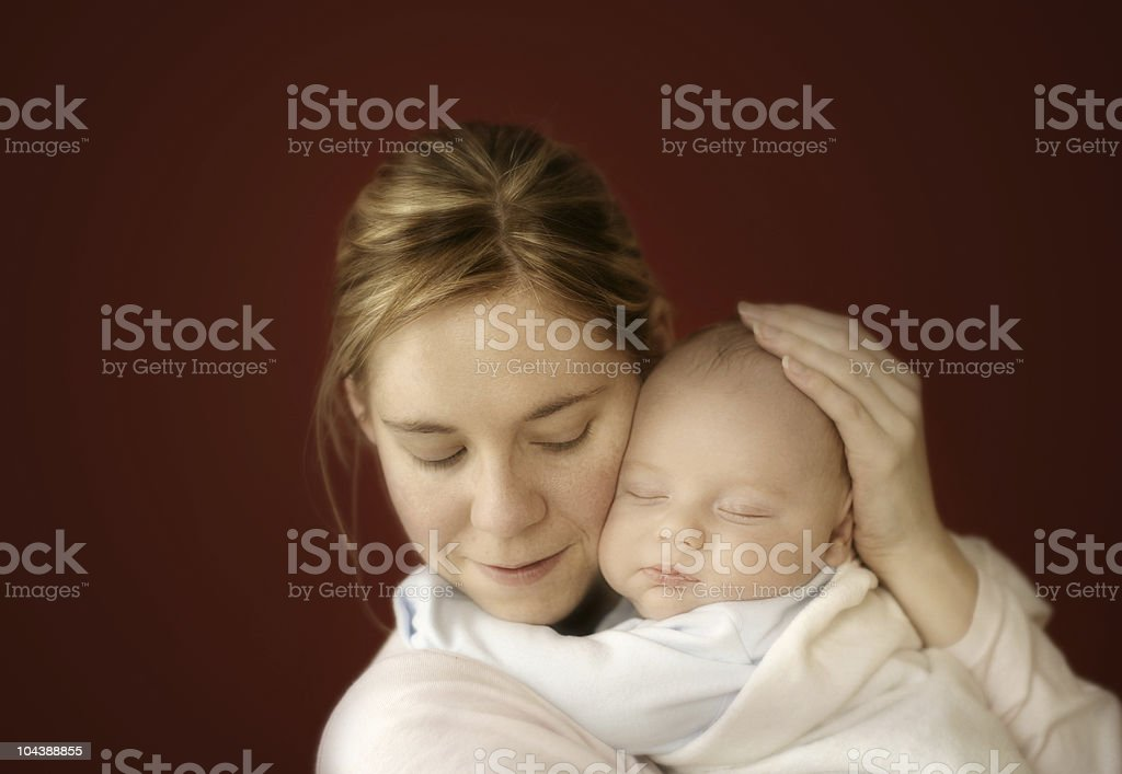 mother & son 2 royalty-free stock photo