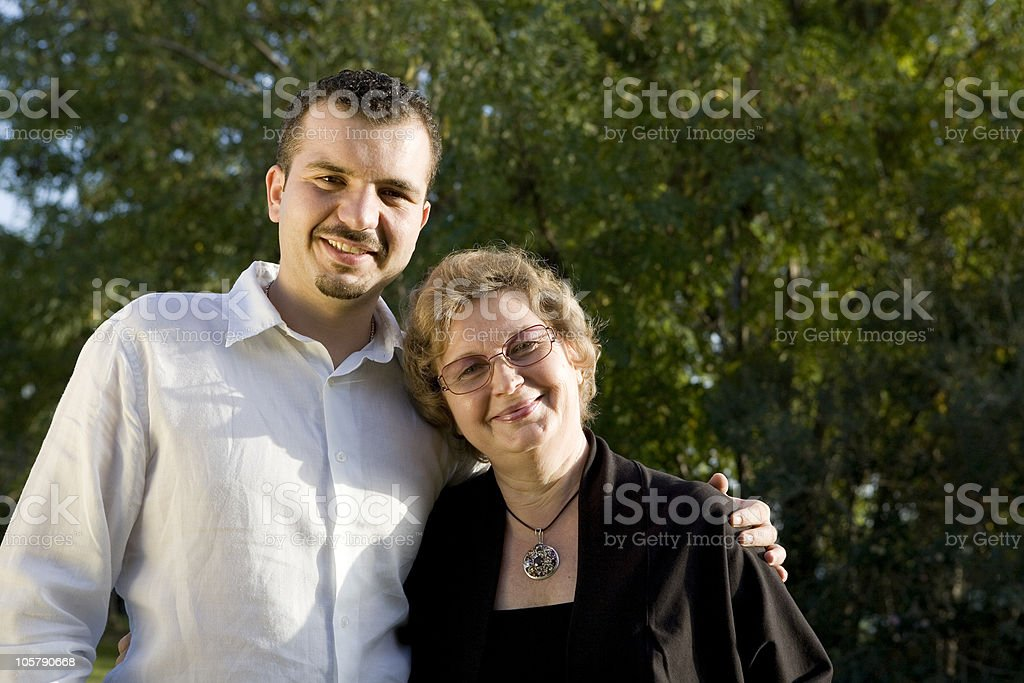 mother son royalty-free stock photo