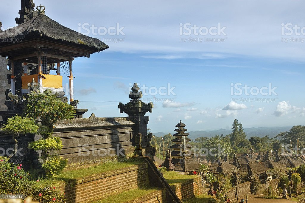 Mother Temple from Bali stock photo