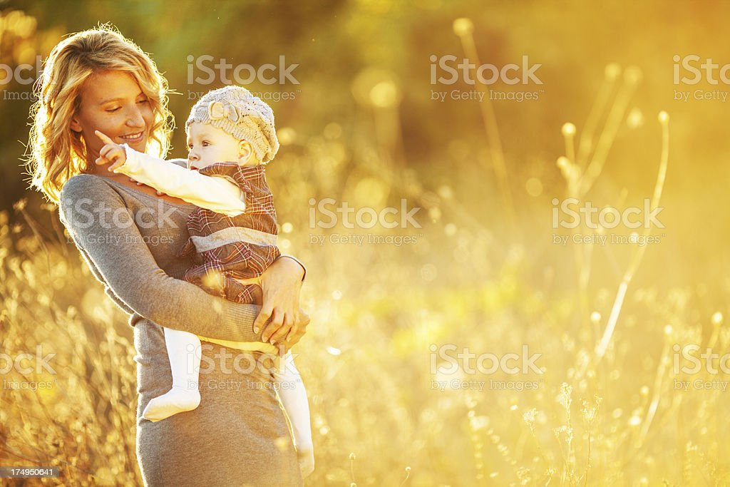 Motherhood royalty-free stock photo