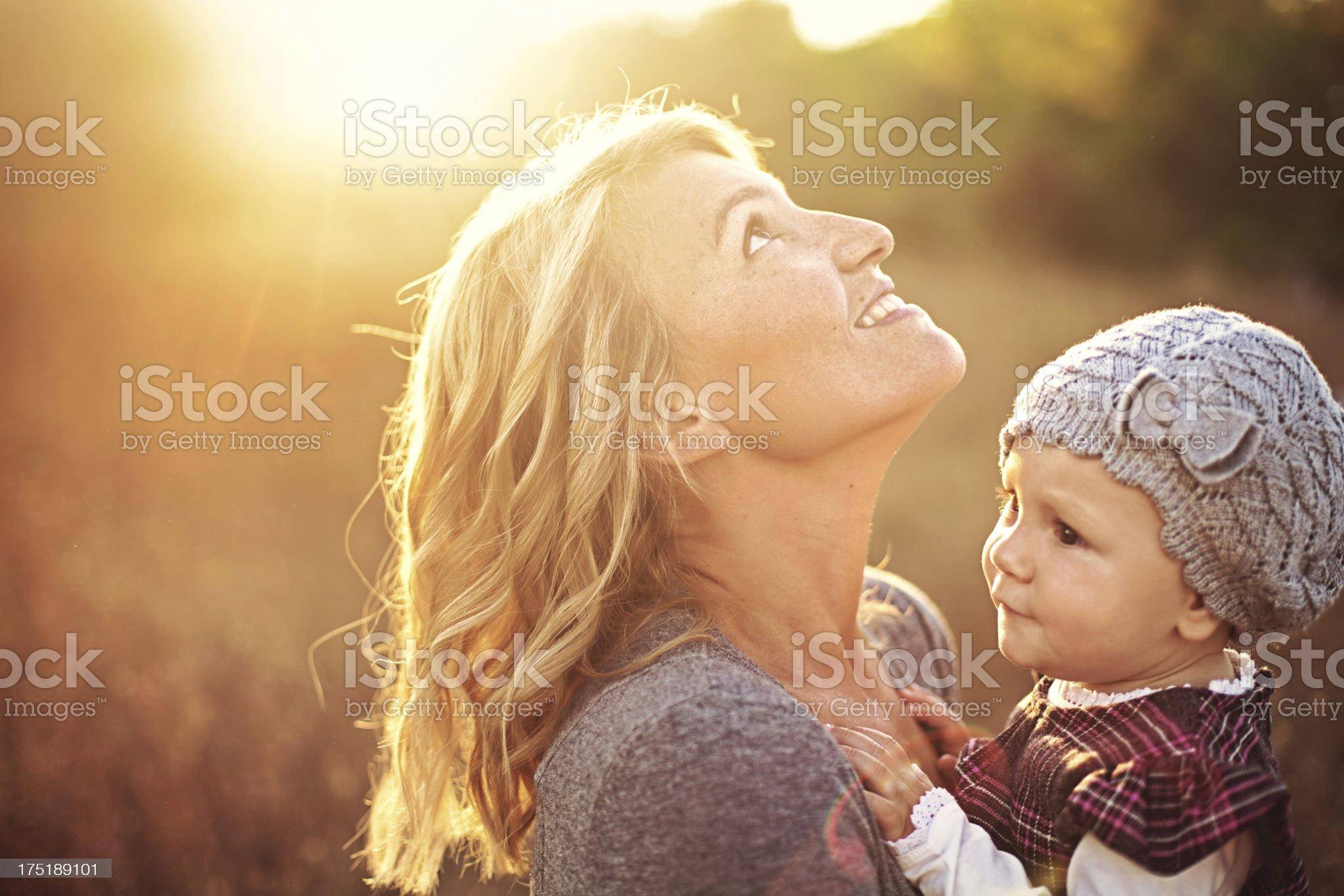 Motherhood royalty-free stock photo