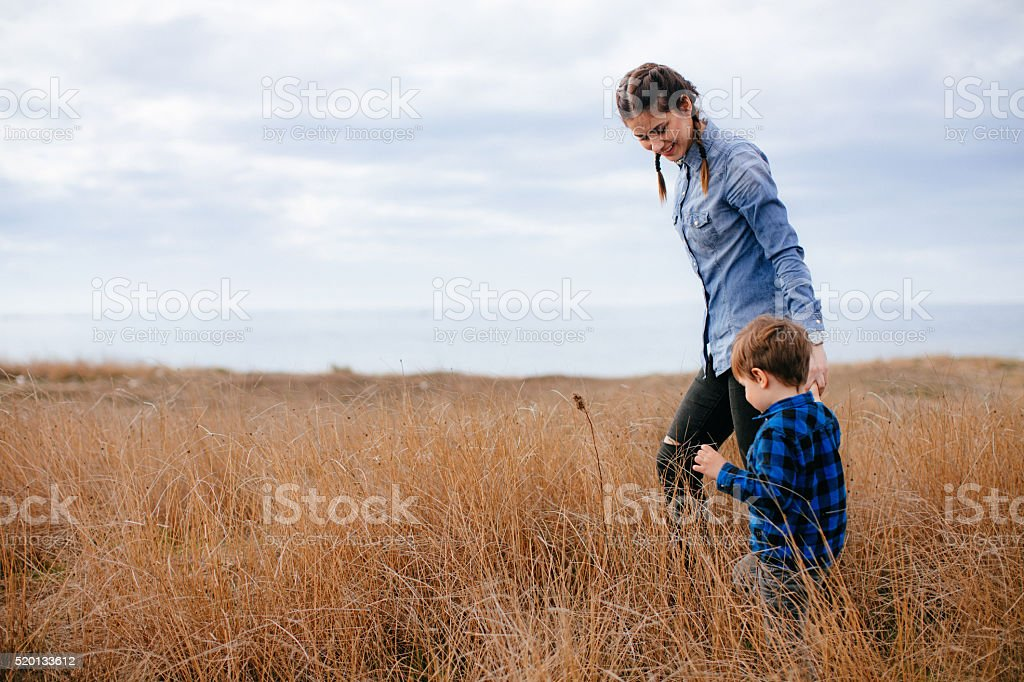 Motherhood stock photo
